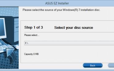 Asus EZ Installer