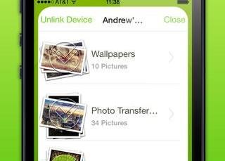 Photo Transfer WiFi