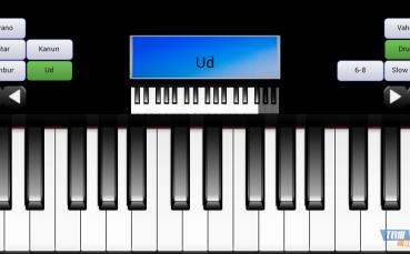 Portatif Piyano Gitar Kanun
