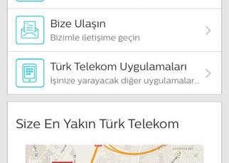 Türk Telekom Online İşlemler Mobil