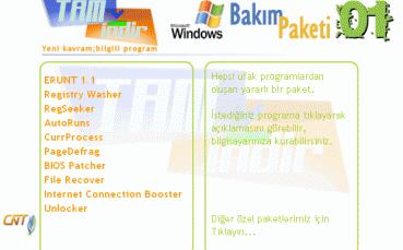 Windows Bakım Programları - Paket - 01