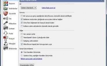 TeamSpeak 3 Türkçe Yama