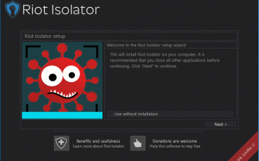 Riot Isolator