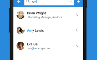 Simpler Contacts