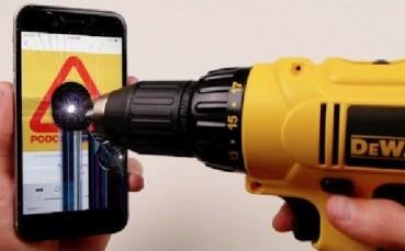 iPhone 6'yı Matkapla Delerseniz Ne Olur?