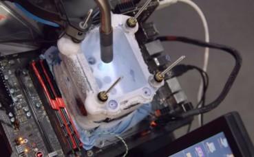İşlemci Sıvı Nitrojenle Nasıl 7 GHz'e Çıkarılır