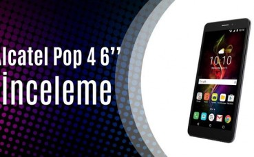 "Alcatel Pop 4 6"" Akıllı Telefon İncelemesi (Cebimize 37 Ekran Televizyon Koyduk!)"