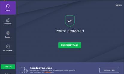 Avast Free Antivirus Ekran Görüntüleri