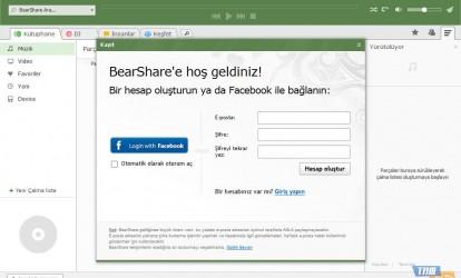 BearShare Ekran Görüntüleri