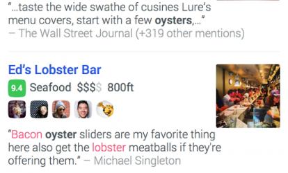 Foursquare Ekran Görüntüleri