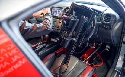 Nissan GT-R/C İç