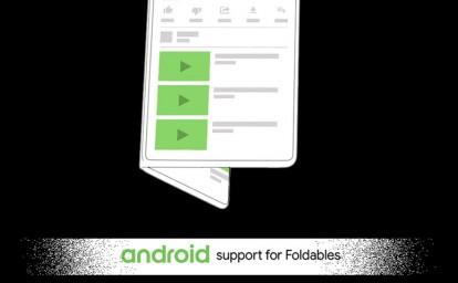Google Android Katlanabilir Akıllı Telefon