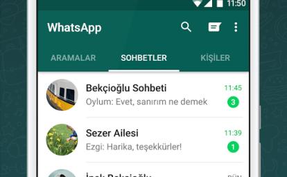 WhatsApp Messenger Ekran Görüntüleri
