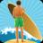 Surfing Boy