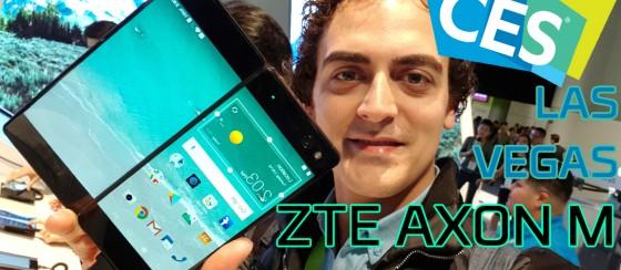 İki Katlı Telefon ZTE Axon M - CES 2018 Özel