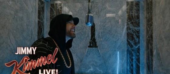 Eminem, Empire State Binası'nda Coşturuyor! (Google Pixel 3 Özel Klip)