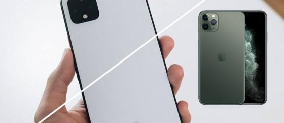 iPhone 11 Pro Max vs Google Pixel 4XL Karşılaştırması