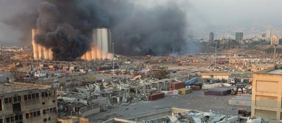 Lübnan'daki Patlama Dış Müdahale ile Gerçekleşmiş Olabilir