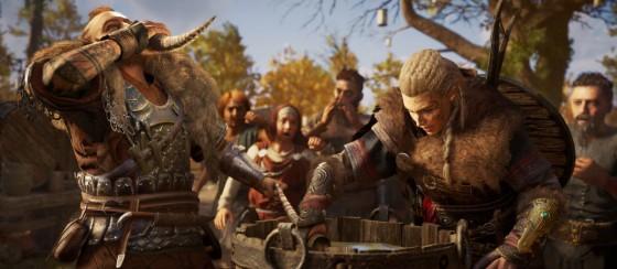 Yeni Assassin's Creed Valhalla Görüntüleri Büyülüyor