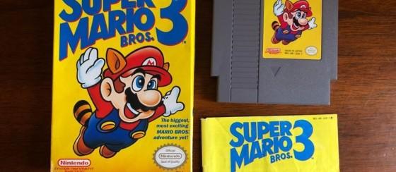 1990'lardan Kalma Super Mario Bros 3 Satış Fiyatıyla Rekor Kırdı