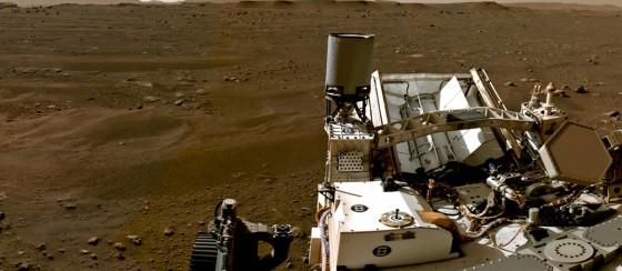 NASA Açıkladı: Perseverance Mars'ta İlk Turunu Attı