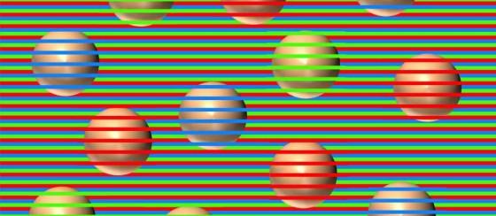 Beyin Yakan Optik İllüzyon: Bu Toplar Hangi Renk?