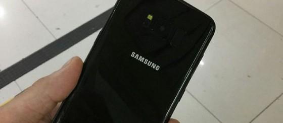 Simsiyah Samsung Galaxy S8 Göründü!