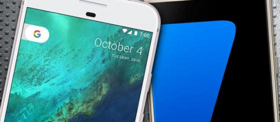 Samsung Galaxy S7 ve Google Pixel Karşılaştırması