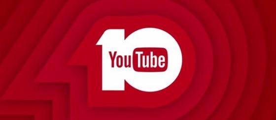 YouTube 10 Yaşında!