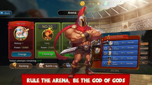 Olympians vs. Titans 5 - 5