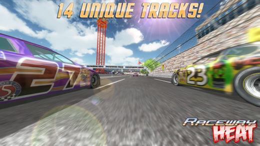 Raceway Heat 4 - 4