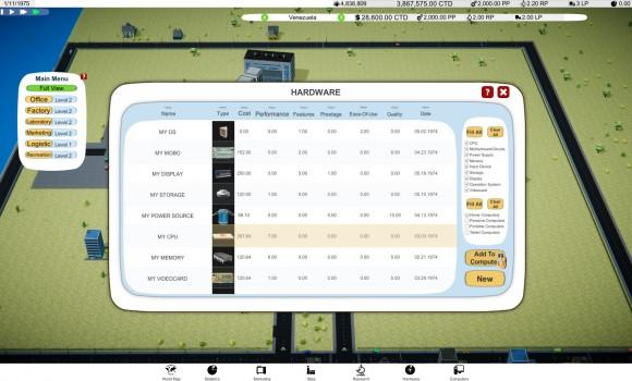 Computer Tycoon Ekran Görüntüleri - 8
