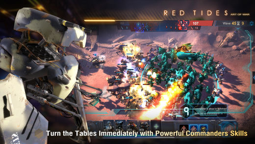 Art of War: Red Tides Ekran Görüntüleri - 2