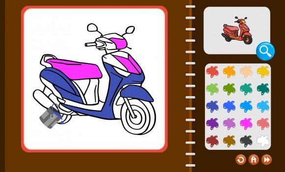 My Coloring Book: Transport Ekran Görüntüleri - 2