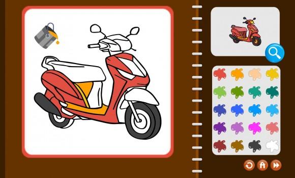 My Coloring Book: Transport Ekran Görüntüleri - 4