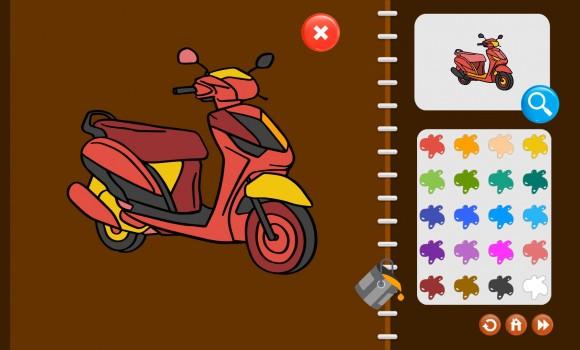 My Coloring Book: Transport Ekran Görüntüleri - 5