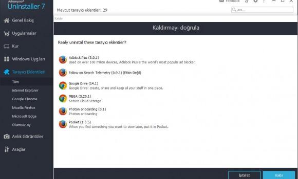 Ashampoo UnInstaller Ekran Görüntüleri - 5