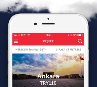 Turkish Airlines Ekran Görüntüleri - 2