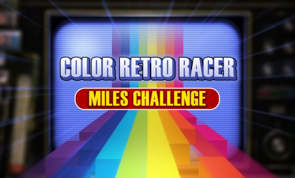 COLOR RETRO RACER : MILES CHALLENGE Ekran Görüntüleri - 1