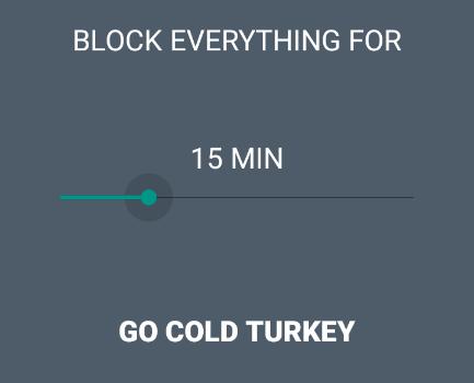 Cold Turkey Ekran Görüntüleri - 1