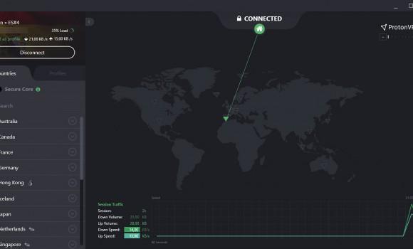 ProtonVPN Ekran Görüntüleri - 4