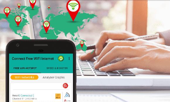 Connect Free WiFi Internet Ekran Görüntüleri - 2