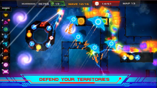 Galaxy Glow Defense 3 - 3