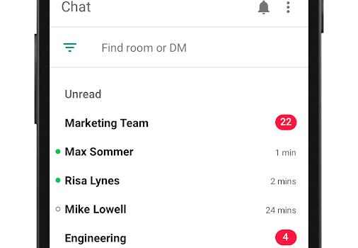 Hangouts Chat Ekran Görüntüleri - 5