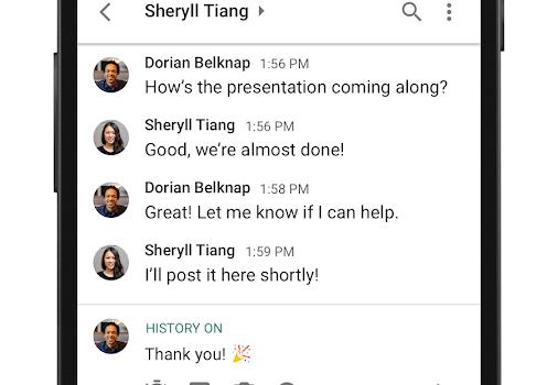 Hangouts Chat Ekran Görüntüleri - 3