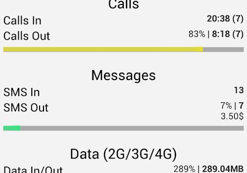 Call Meter 3G Ekran Görüntüleri - 4