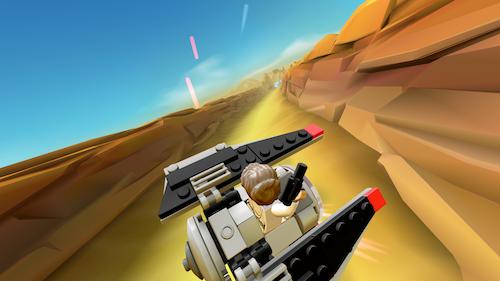 LEGO Star Wars: Microfighters Ekran Görüntüleri - 5