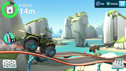 MMX Hill Dash 2 Ekran Görüntüleri - 1
