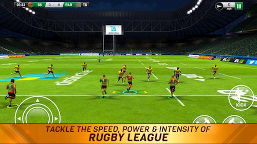 Rugby League 18 Ekran Görüntüleri - 1