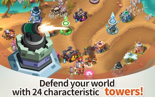 Hero Defense King Ekran Görüntüleri - 2